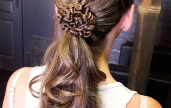 Tresses – coiffure de soirée